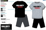 PIJAMA SUN CITY CALL OF DUTY SE3548